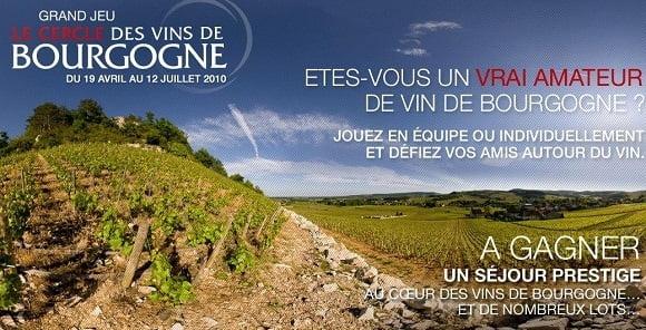 Jeu Le cercle des vins de Bourgogne