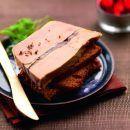 Tranche de foie gras de canard sur pain d'épices