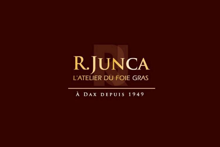 Logo R. Junca L'atelier du foie gras à Dax depuis 1949